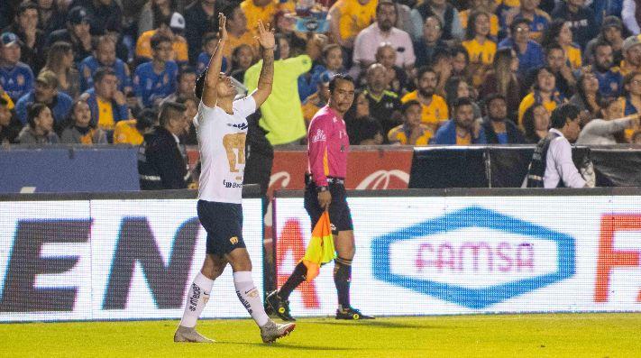 Los Tigres dan la voltereta y vencen 2-1 a los Pumas
