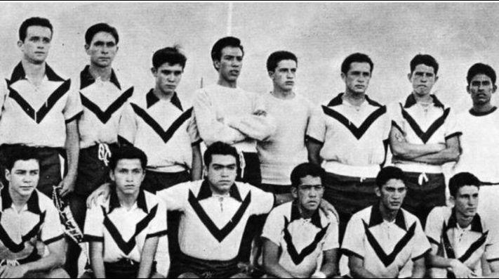 Este fue el primer equipo de los Pumas, hace 65 años