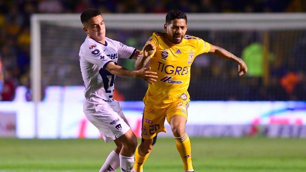 Derrotado lado Deshonestidad  Qué canal transmite el partido entre Tigres vs. Pumas por la Liga MX   Dale  Pumas