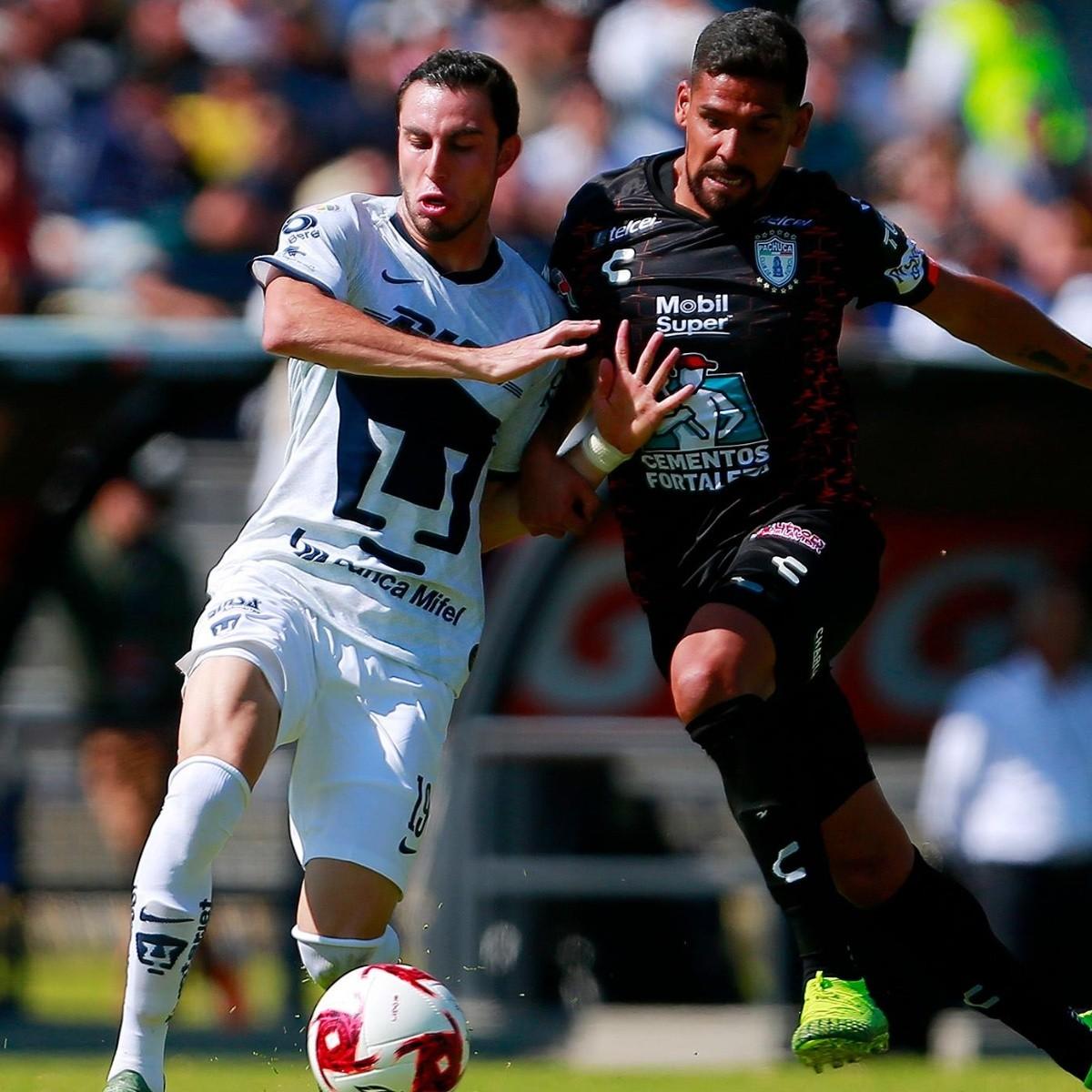 Ligeramente heroína Peligro  Pachuca vs. Pumas ver en vivo el duelo por la Liga MX | Dale Pumas