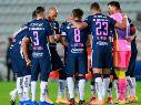 Pumas en el partido ante Pachucaa